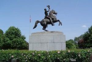 Baton Rouge LA Bariatric Surgery Seminar - Andrew Jackson Statue