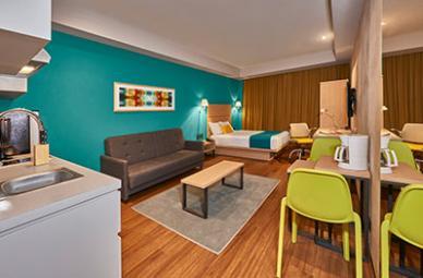 City Express Suites in Tijuana Mexico Hotel Room Suite