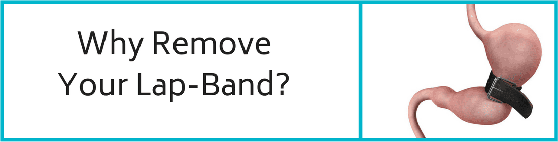 Why Remove Your Lap-Band - Lap Band Removal