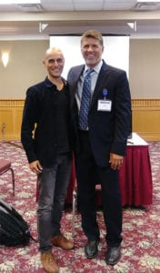 Ron Elli with Patient - Mexico Bariatric Center - Calgary, Canada Bariatric Surgery Seminar