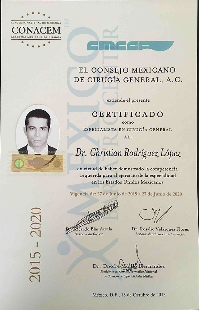 Dr Rodriguez Lopez - CERTIFICADO CIRUGIA GENERAL-1