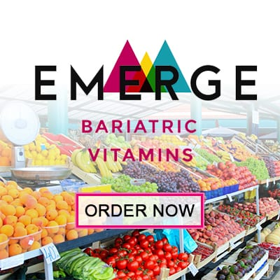 Emerge Bariatric Vitamins - Vitamins After Weight Loss Surgery - Box