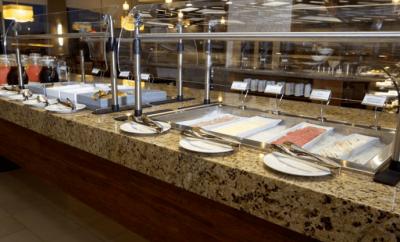 Hyatt Hotel - Tijuana Mexico - Buffet