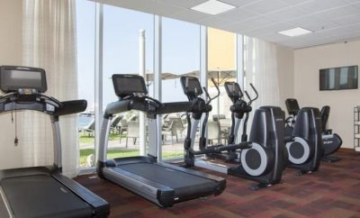 Hyatt Hotel - Tijuana Mexico - Gym