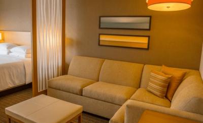 Hyatt Hotel - Tijuana Mexico - Hotel Living Area