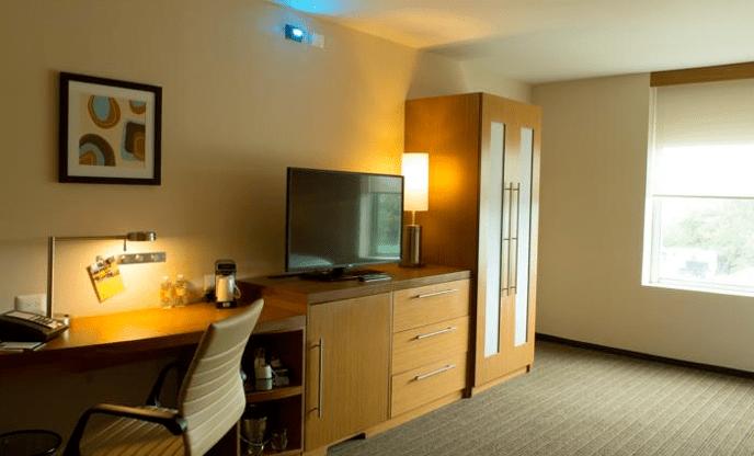 Hyatt Hotel - Tijuana Mexico - Hotel Room Area