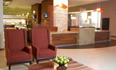 Hyatt Hotel - Tijuana Mexico - Lobey and Front Desk