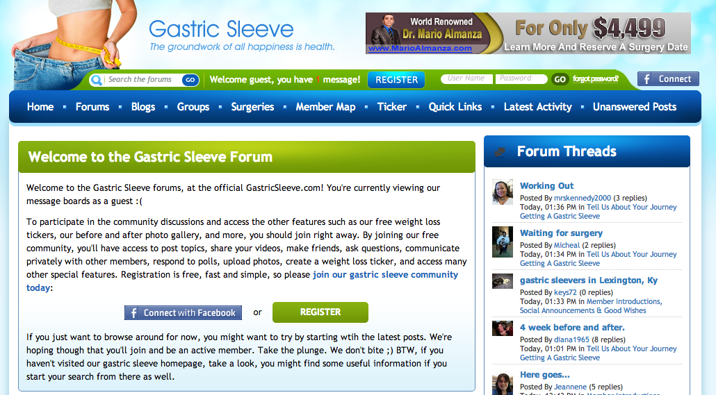 Gastric Sleeve – Weight Loss Surgery Forum