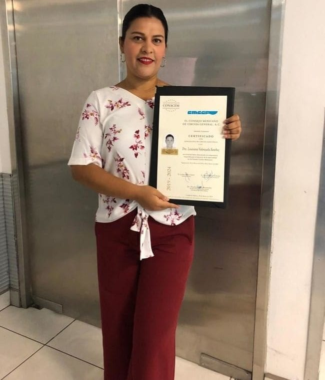 Mexico Bariatric Center Dr Louisiana Valenzuela Board Certification