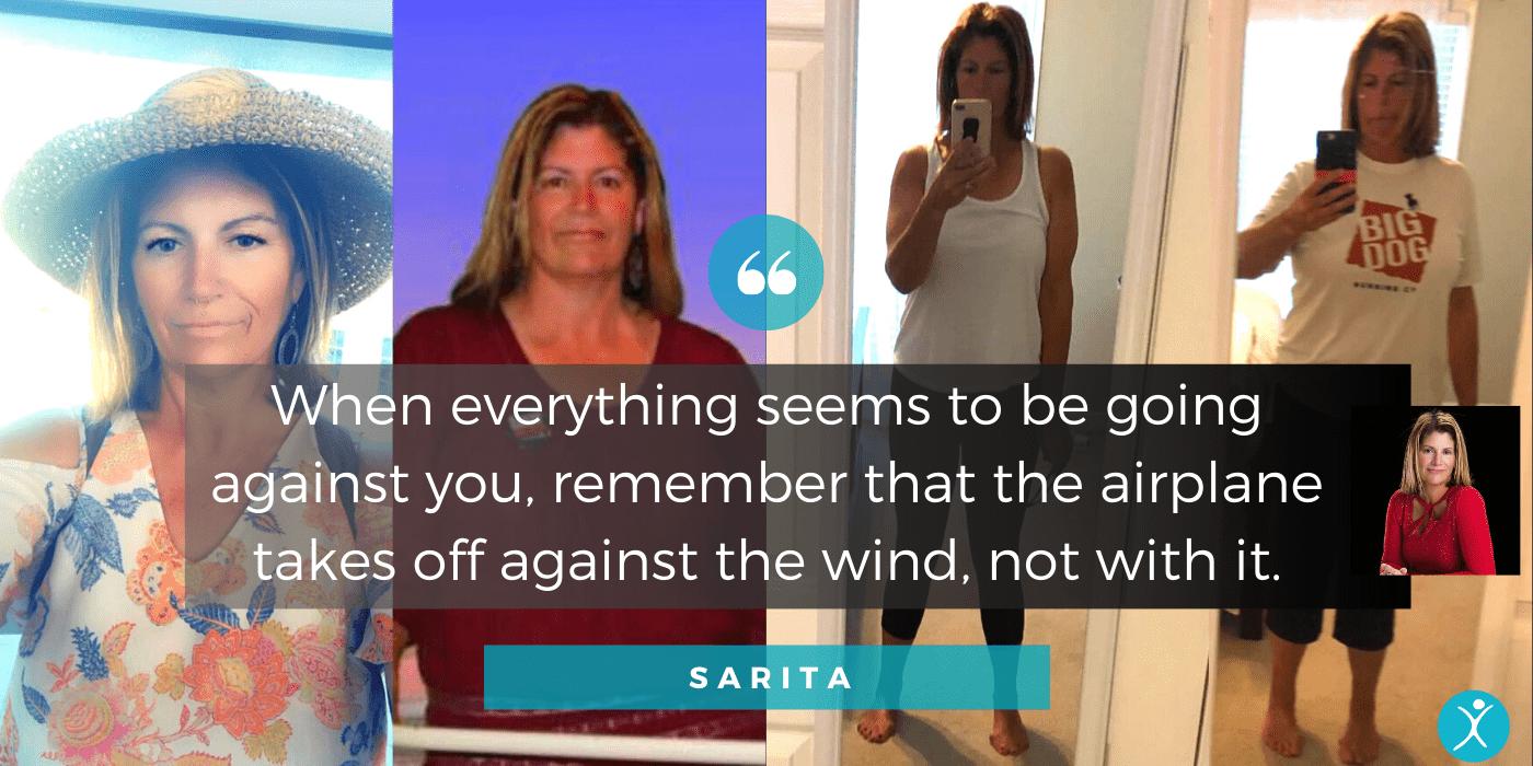 Sarita Patient Advocate header