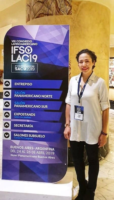 Dr. Jacqueline Osuna at IFSO International Federation for the Surgery of Obesity 2019 - Bariatric Surgeon Mexico