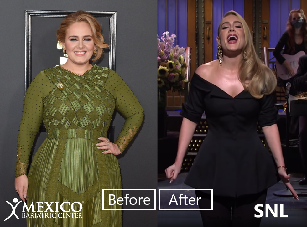 adele before after weight loss success 2020
