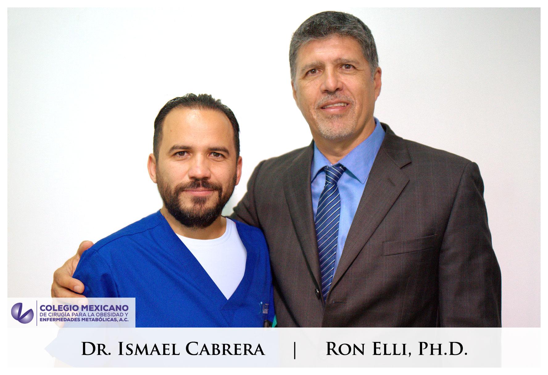 Dr. Cabrera and Dr. Ron Ellis