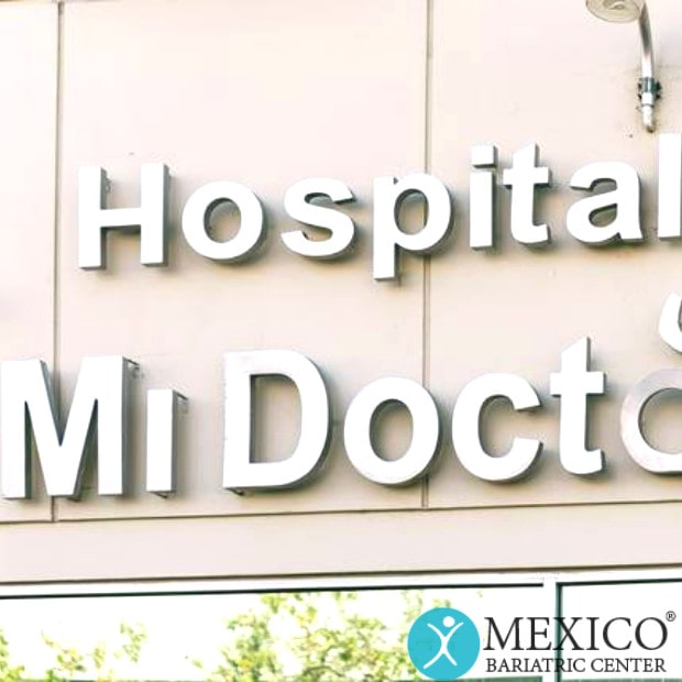 Hospital Mi Doctor Outside Building Sign