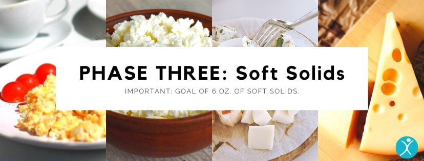 Phase Three Soft Solids Diet - Bariatric Surgery Post-Op Diet