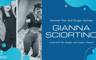 Internet Star Singer Actress Gianna Sciortino Loses Half Her Weight with Gastric Sleeve Surgery