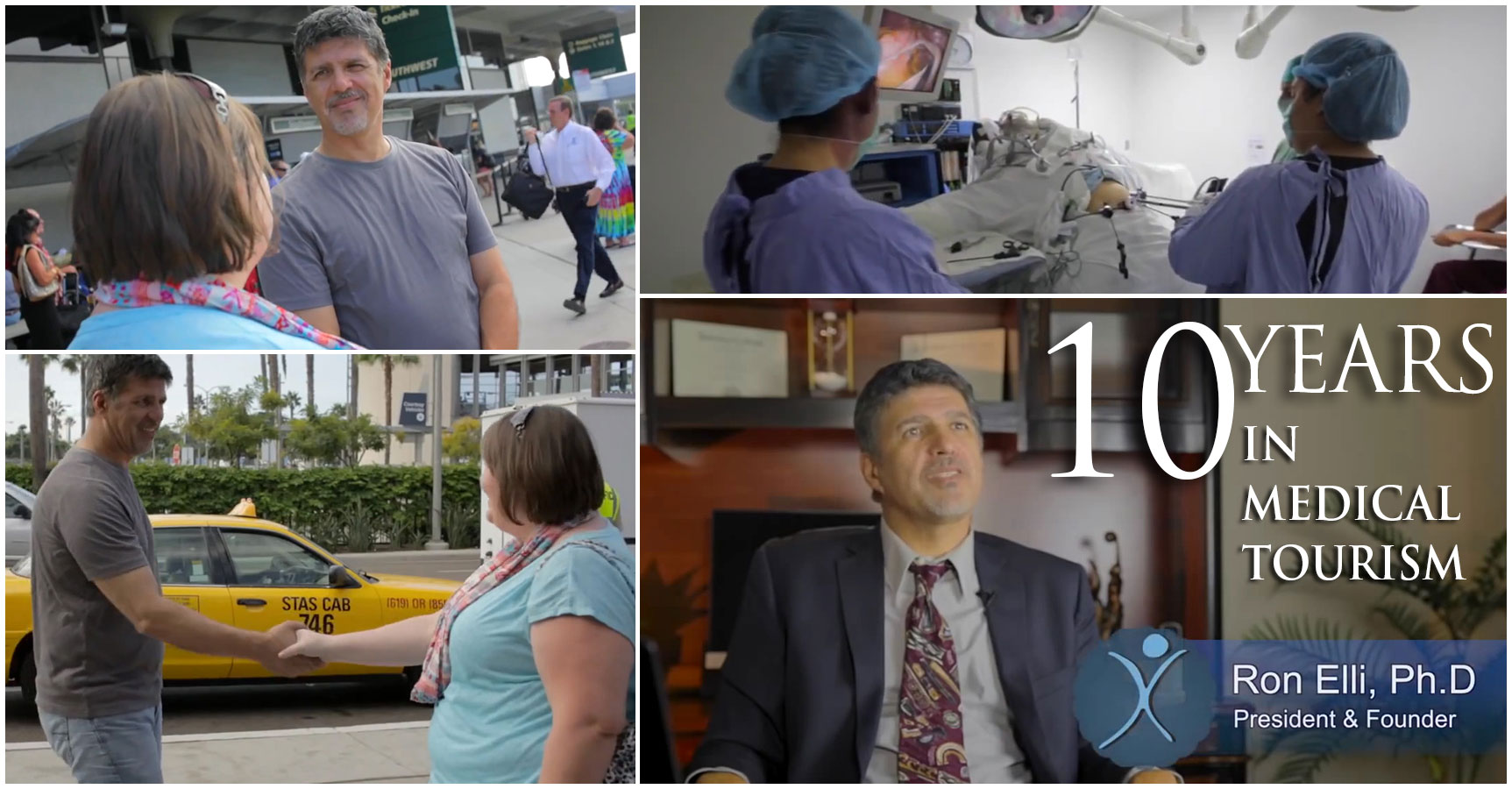 Ron Elli - 10 Years in Medical Tourism Industry