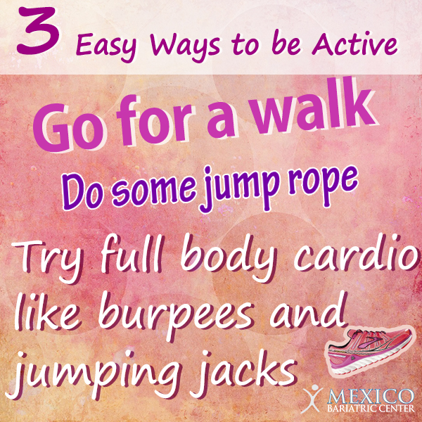3 Easy Ways to be Active