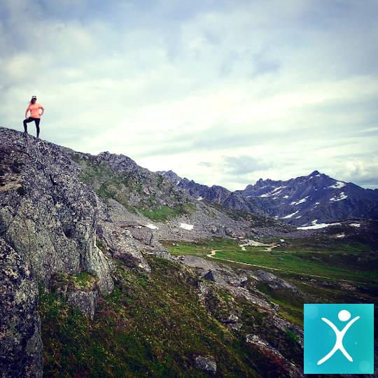 Climbing mountain after weight loss surgery
