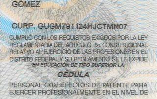 Dr Alejandro Gutierrez Ministry of Public Health Certificate