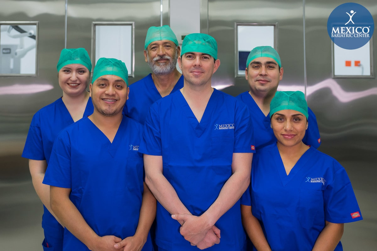 Dr. Alejandro Gutierrez Surgical Team - Mexico Bariatric Center