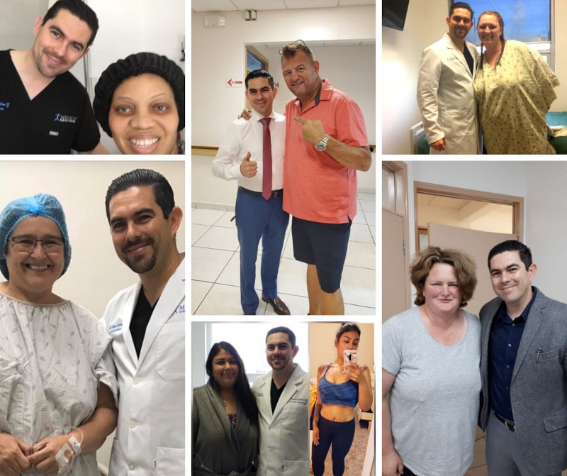 Dr. Alejandro Gutierrez with Weight Loss Surgery in Mexico Patients