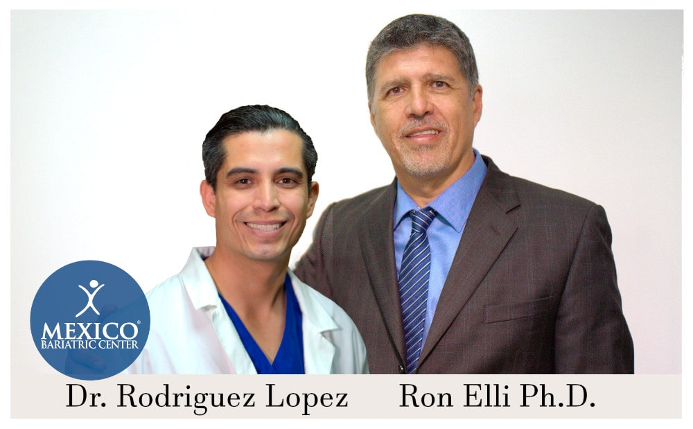 Ron Elli Founder with Dr. Rodriguez Lopez - Mexico Bariatric Center