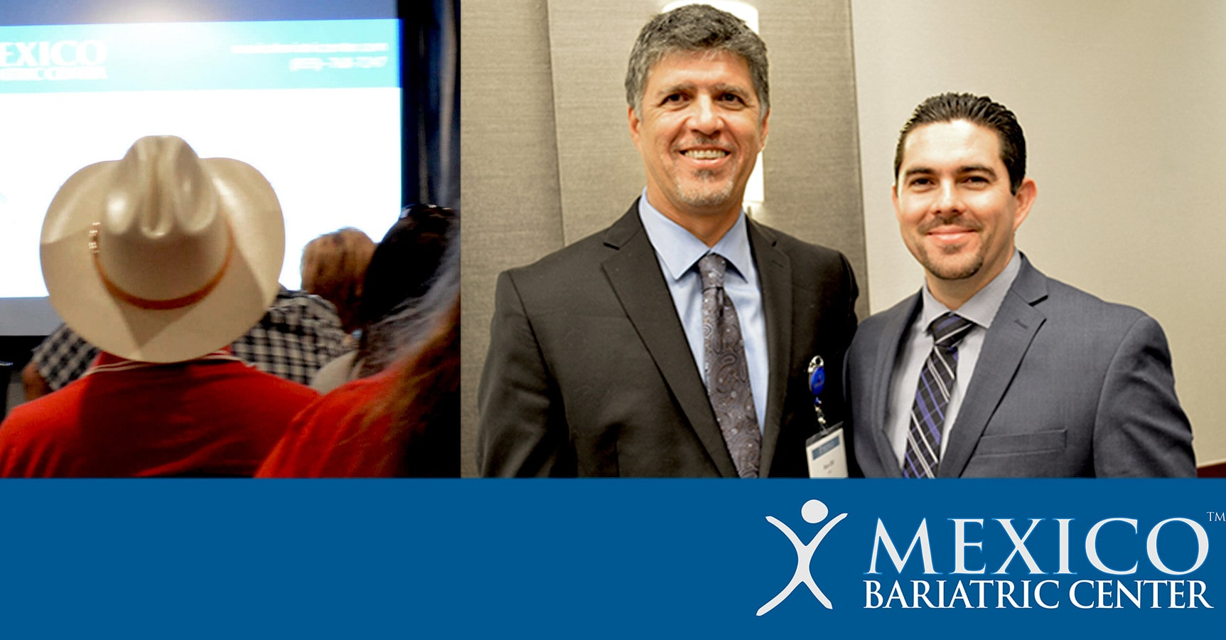 Ron and Dr. Alejandro Gutierrez at Bariatric Seminar