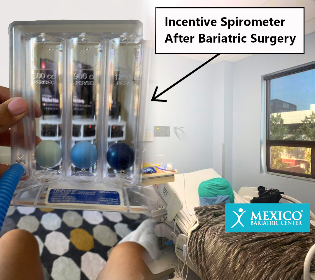 Incentive Spirometer After Bariatric Surgery - Recovery Breathing