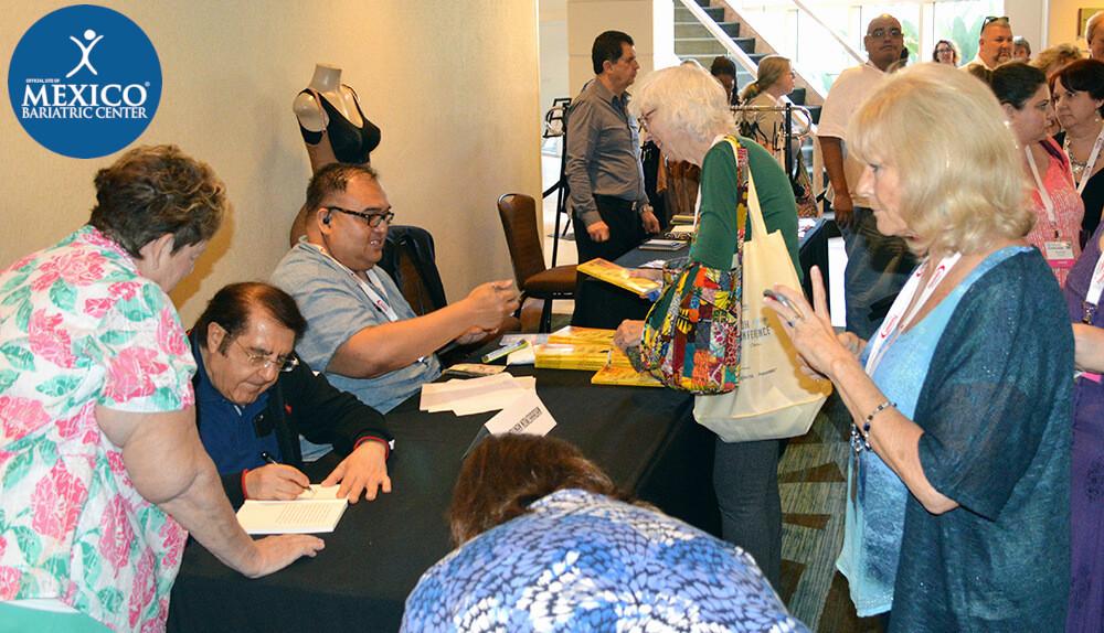 Dr Younan Nowzaradan signing books - TLC Series My 600-lb Life