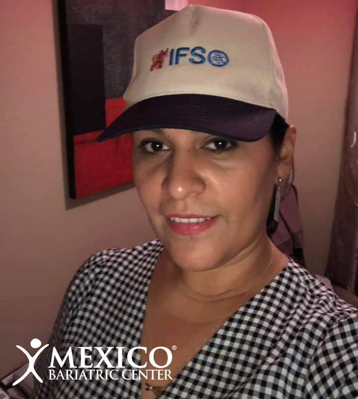 dr louisiana valenzuela - IFSO Madrid 2019 hat
