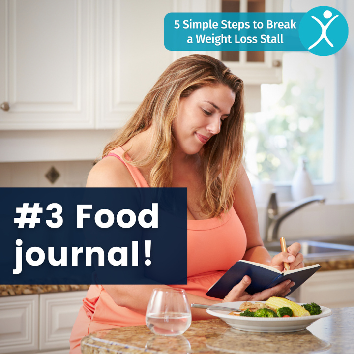 Food journal - 5 simple steps to break a weight loss stall