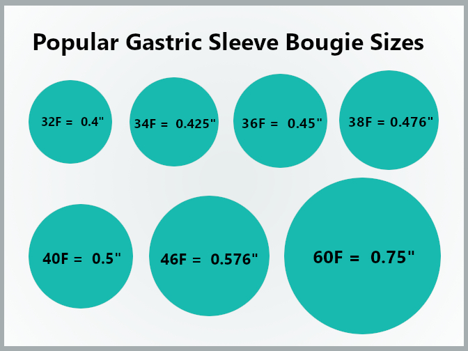 Gastric Sleeve Bougie Sizes