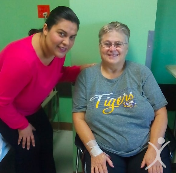 Dr. Louisiana Valenzuela with Elder Bariatric Surgery Patient