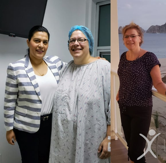 Dr. Louisiana Valenzuela with Patient Robin