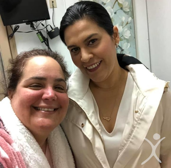 Dr. Louisiana Valenzuela with Patient in Recovery