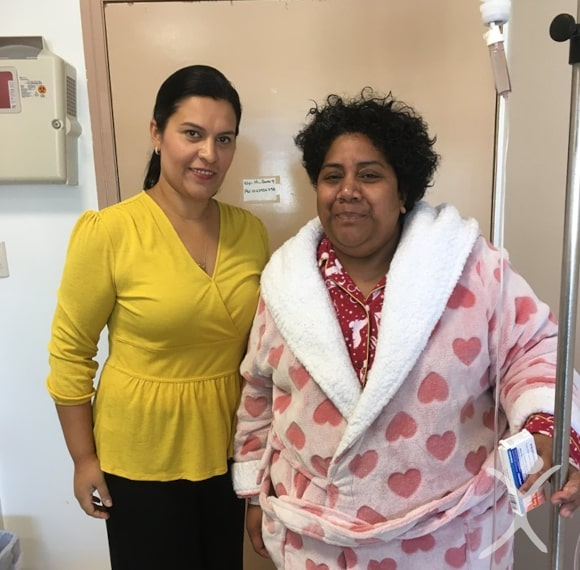 Dr. Valenzuela with patient after the Gastric Sleeve Surgery - Mexico Bariatric Center